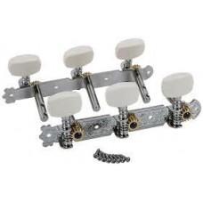 AOD-017A(W) Комплект колковой механики на планке без втулки 35мм Alice