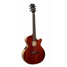 SFX-Myrtlewood-BR SFX Series Электро-акустическая гитара, с вырезом, цвет натуральный, Cort